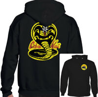 No Mercy Cobra Kai Mens Karate Kid Inspired Hoodie Mr. Miyagi Martial Arts MMA