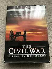 The Civil War: A Film Directed By Ken Burns (DVD, 2011, 6-Disc Set) Like New!