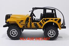 "2009 Matchbox ""Desert Adventure"" Jeep® 4x4 AMPD/RINGED GEAR WHEEL/MINT"
