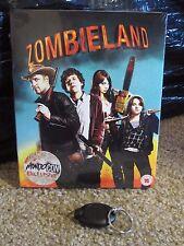 Zombieland Blu-Ray Steelbook [MondoCon] w/Rare Full Slip UV Sealed Hard to Find