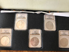 New Listing13.5oz Silver Graded Silver Eagles And Other Proof Coins, And 1 Proof Copper.