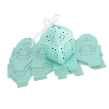 25pcs Cute Elephant Cut Out Candy Gift Box Baby Shower Wedding Party Favor