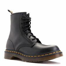 Para Mujeres Zapatos Botas Dr. Martens 1460 8 Ojo 11821006 Negro Liso