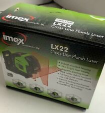 Imex LX22 Red Cross Line Laser Level & Plumb Spot + Magnetic Bracket Kit X