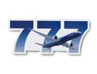 NEW Boeing 777 Sticker, UPC# 585085030048