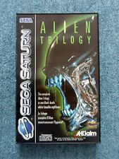 Sega Saturn ALIEN TRILOGY Acclaim Video Game
