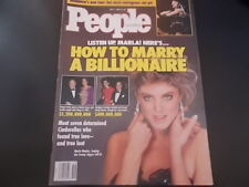 Marla Maples, Madonna - People Magazine 1990