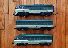 MTH 20-2087-1 NORTHERN PACIFIC O Scale Premier F-3 ABA Diesel Set Radio Equipped