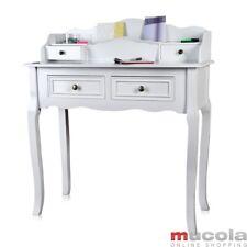 Sekretär Schreibtisch Schminktisch Shabby Chic Landhausstil Landhaus Antik Weiß