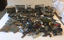 HUGE LOT Call of Duty Mega Bloks 41 Mini Figures Tank Boat Raft Many Parts