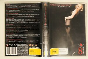 THE MARILYN MONROE COLLECTION 8 Movies 8 x Region 4 DVD Set   Good condition