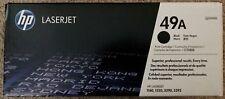 Genuine HP 49A (Q5949A) Black Toner Cartridge  New/Unopened/In-box