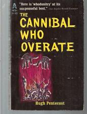 THE CANNIBAL WHO OVERATE ~ AVON H-103 1962 HUGH PENTECOST (JUDSON PHILLIPS)