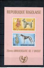 TOGO-1967-UNICEF-chiens-1 BF neuf NON dentelé