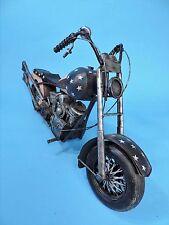 "TIN ""CHOPPER"" MOTORCYCLE MODEL A LA  ""EASY RIDER""  STARS & STRIPES"