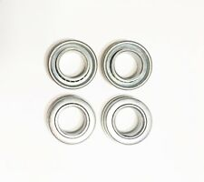 4 Pack Flange Wheel Bearing 3/4 X 1 3/8 Wheelbarrow Dolly Tractor Rider Mower