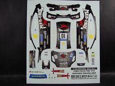 DECALS 1/43 FORD FOCUS WRC  #10 FINLAND 2009 - COLORADO  43214