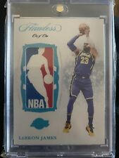 Lebron James Los Angeles Lakers 2018-2019 Flawless 1/1 card