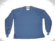 20 L-L Tops Euclid Vidaro Microdenier Poly Modest Scrubs Cleanroom Lab Blue