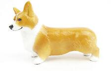 Pembroke Corgi Dog Red Colour Hand Finished & Signed Dog Figurine