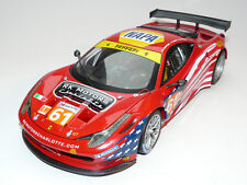 Ferrari 458 Italia GT2 LM 2012 AF CORSE 1/18 BCT78 HOTWHEELS ELITE