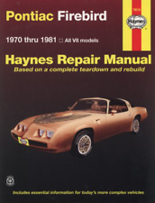 Haynes Workshop Manual Pontiac Firebird V8 Trans-Am Esprit Formula 1970-1981