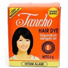 1 Box Tancho Hair Dye Powder Natural Black @6gr