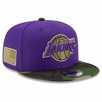 Los Angeles Lakers New Era NBA All-Star Camo 9FIFTY Snapback Hat - Purple