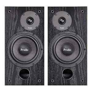 """ProAc Studio SM100 bi-wired 30-150 watt,8 ohm,35hz-30khz,88dB,61/2"""" Cherry/Black"""
