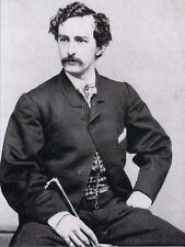 POSTCARD OF JOHN WILKES BOOTH, ASSASIN OF ABRAHAM LINCOLN FROM OLD PHOTOGRAPH