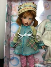 "7.5"" Helen Kish Vinyl Doll Tulah & Missing Toots  2004 Adorable Redhead W/ Box"