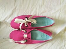 Crocs Womens Pink Crocs Size 11 Shoes Canvas Loafers Moccasins shoelaces