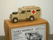 Land Rover Ambulance Series 111 HT26 - Hart Models England 1:48 in Box *34379