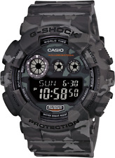 Casio G-Shock Digital Mens Camouflage GREY Watch GD-120CM-8DR