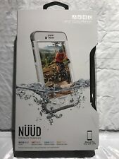 LifeProof NUUD Waterproof Case for iPhone 6s Plus  Avalanche White BRAND NEW!!