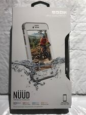 LifeProof NUUD Waterproof Case for iPhone 6s Plus  Avalanche Whit *OPEN BOX*