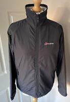Berghaus Softshell, Fleece Jacket Duo Wear Coat Liner Uk 10 Black