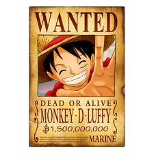One Piece Anime Wanted Poster Ebay