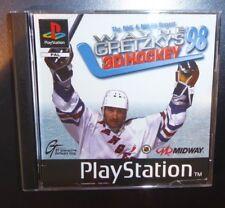WAYNE GRTZKYS 3D HOCKEY ´98 - für die PlayStation 1 / PS 1 TOP Spiel!
