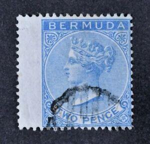 BERMUDA, QV, 1877, 2d. bright blue value, SG 4, used condition, Cat £21.