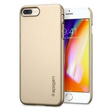 Original Spigen Protector Cover for iPhone 8 7 Thin Fit Case Champagne Gold