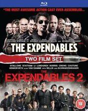The Expendables 1 & 2 (Blu-ray, 2012, 2 Film Box Set) NEW SEALED Region B