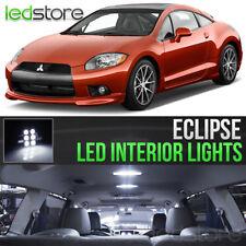 2006-2012 Mitsubishi Eclipse White LED Lights Interior Kit Package Bulbs