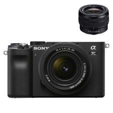 Sony Alpha A7C Appareil Photo Hybride + Objectif FE 28-60mm f/4-5,6 Zoom Neuf