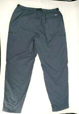 Patagonia Men's Size XL Nyon Gi III Pant Gray Blue Belt Elastic Waist Hiking
