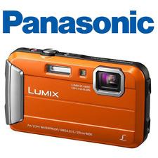 Panasonic Lumix DMC-TS25D DMC-TS25  Shock & Waterproof Digital Camera - Orange