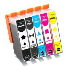 LOT New INK For HP 564XL Ink Cartridge Photosmart 6510 6520 7510 7520 Printer