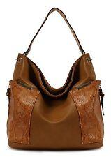 Scarleton Chic Hobo Bag H169504 - Brown