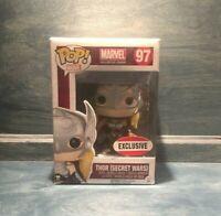 🔥Funko POP! Marvel #97 Thor Secret Wars MVCC Exclusive Vaulted Rare New