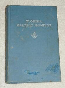 Florida Masonic Monitor (1969) Degrees and ceremonies